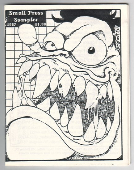 SMALL PRESS SAMPLER 1987 mini-comic ROY TOMPKINS Matt Feazell BOB VOJTKO Bob Burden
