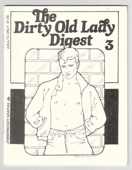 DIRTY OLD LADY DIGEST #3 mini-comix gay interest 1991