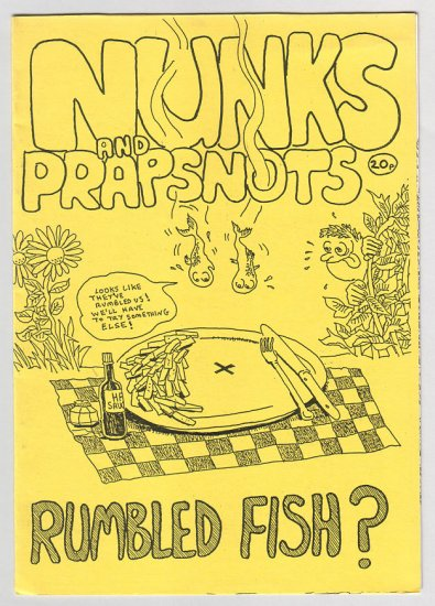 NUNKS AND PRAPSNOTS British mini-comic S. HENDER 1980s