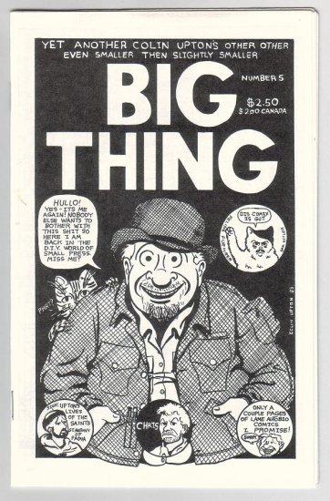 BIG THING #5 mini-comic COLIN UPTON 1993