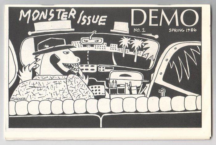 DEMO #1 mini-comic DENNIS WORDEN Mary Fleener BOB X 1986