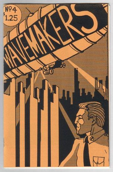 WAVEMAKERS #4 Canadian mini-comics anthology STEVE LEBLANC 1989