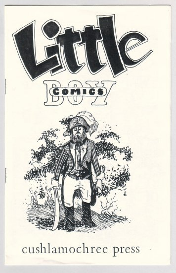 LITTLE BOY COMICS mini-comic MARK DAVID DIETZ 1988