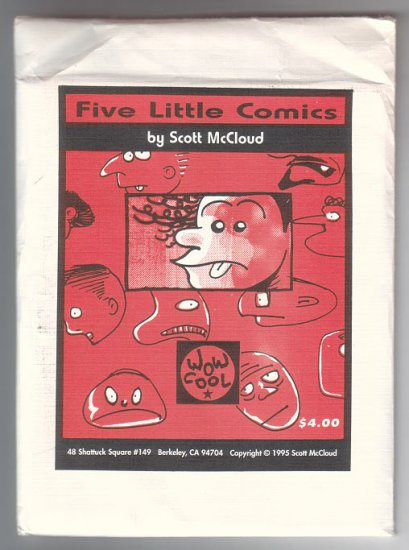 FIVE LITTLE COMICS mini-comics pack SCOTT MCCLOUD 1995