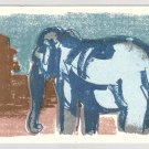 ELEPHANT silkscreen Gocco print by Sean Bieri