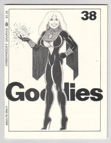 GOODIES #38 mini-comix LEE BURKS Jim Thompson JEFF GAITHER 1987