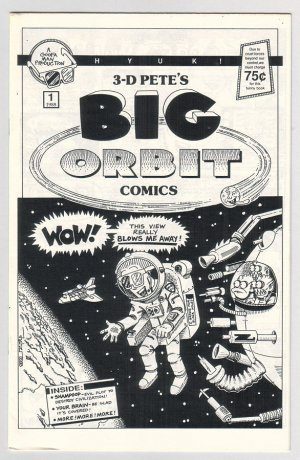 BIG ORBIT COMICS #1 mini-comic MIKE FISHER humor 1988