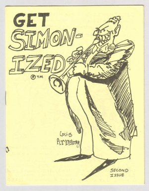 GET SIMONIZED #2 mini-comix AL SIMONS blues musicians 1984