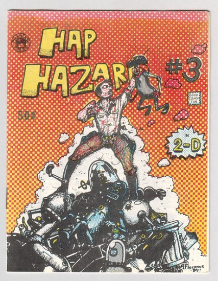 HAP HAZARD #3 underground comix RICHARD FLORENCE Phantasy Press 1984