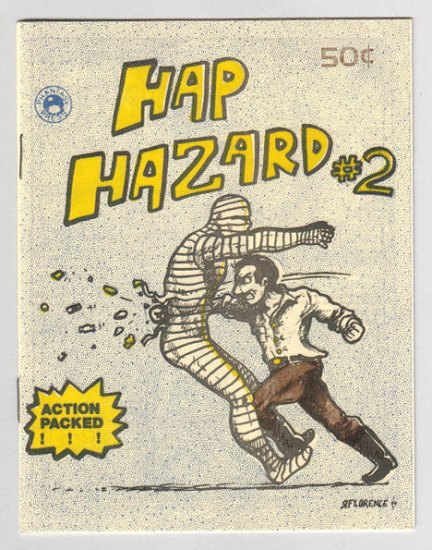 HAP HAZARD #2 mini-comix RICHARD FLORENCE Phantasy Press 1984