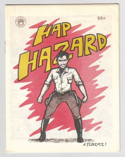 HAP HAZARD #1 mini-comic RICHARD FLORENCE Phantasy Press 1983