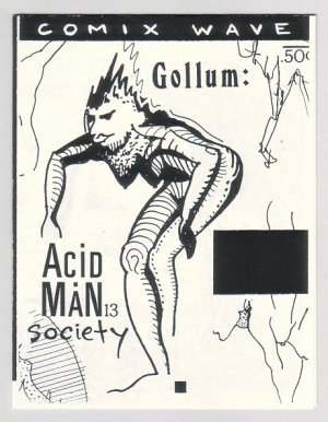 ACID MAN SOCIETY #13 Canadian mini-comix ROBERT PASTERNAK 1990
