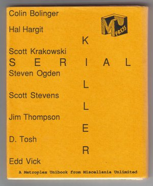 SERIAL KILLER set of 8 minis D. TOSH Scott Stevens JIM THOMPSON 1988