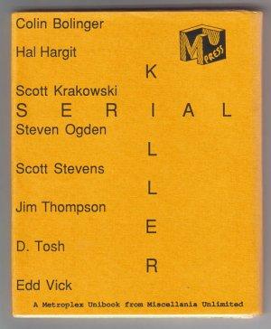 SERIAL KILLER set of 8 minis D. TOSH Scott Stevens JIM THOMPSON 1988
