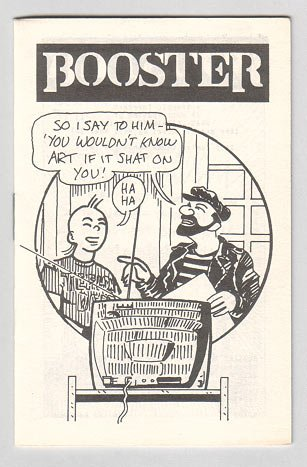 BOOSTER mini-comix MATT HOWARTH P.G. Roth 1984