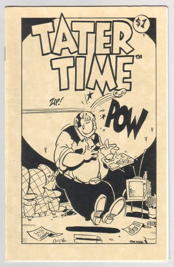 TATER TIME mini-comix TOM KING minicomix 1992
