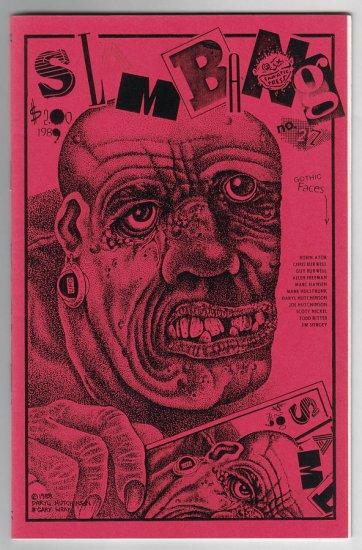 SLAM BANG #27 mini-comix GARY WRAY Joe Hutchinson JIM SIERGEY 1989