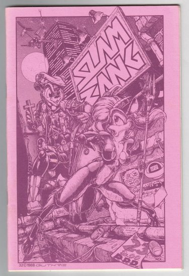 SLAM BANG #23 mini-comix TOM HART Jim Siergey DONNA BARR 1988