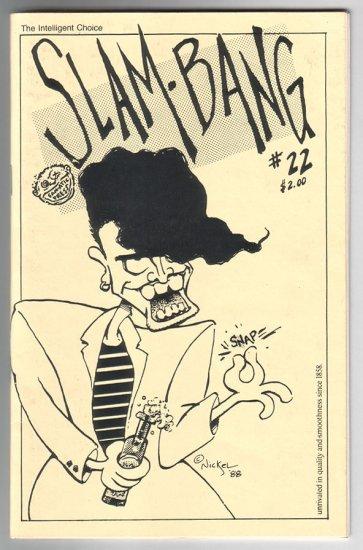 SLAM BANG #22 mini-comix JIM SIERGEY Scott Nickel DAVID MILLER Donna Barr 1988