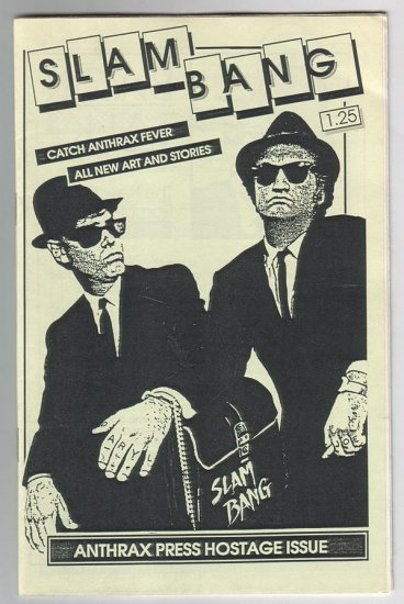 SLAM BANG #5 mini-comix JOE HUTCHINSON Daryl Hutchinson 1986