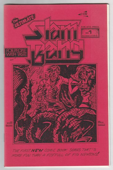 SLAM BANG #1 mini-comix JEFF GAITHER Brad Foster DAVID MILLER 1985 1st