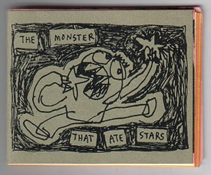 THE MONSTER THAT ATE STARS mini-comic SOUTHER SALAZAR 2003
