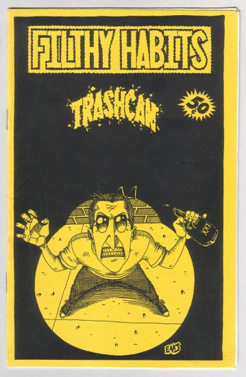 FILTHY HABITS TRASHCAN mini-comix WALKER Jones CRADE 1990s