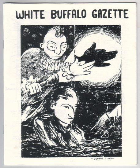 WHITE BUFFALO GAZETTE mini-comix JEFF ZENICK Edward Bolman Nov 1999