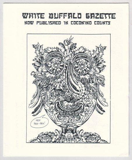 WHITE BUFFALO GAZETTE Nov 1996 mini-comix MICHAEL RODEN Jim Siergey