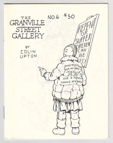 GRANVILLE STREET GALLERY #6 Canadian mini-comix COLIN UPTON 1980s