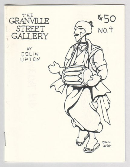 GRANVILLE STREET GALLERY #4 Canadian mini-comix COLIN UPTON 1980s
