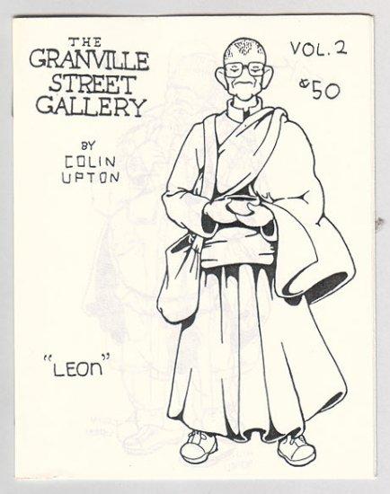 GRANVILLE STREET GALLERY #2 Canadian mini-comix COLIN UPTON 1980s
