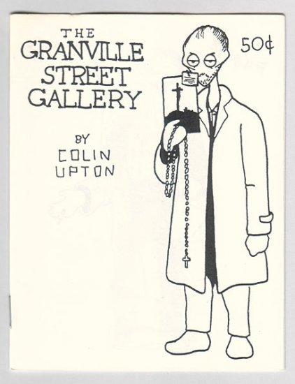 GRANVILLE STREET GALLERY #1 Canadian mini-comix COLIN UPTON 1980s