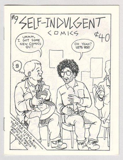 SELF-INDULGENT COMICS #9 Canadian mini-comix COLIN UPTON 1980s