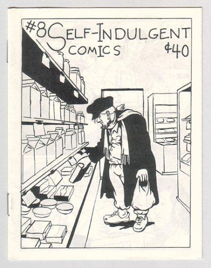 SELF-INDULGENT COMICS #8 Canadian mini-comix COLIN UPTON 1980s