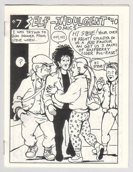 SELF-INDULGENT COMICS #7 Canadian mini-comix COLIN UPTON 1980s