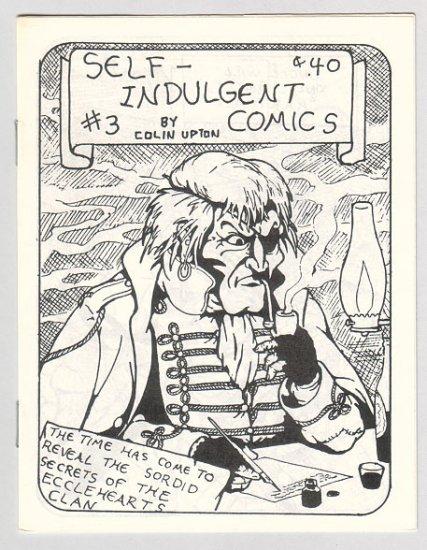 SELF-INDULGENT COMICS #3 Canadian mini-comix COLIN UPTON 1980s