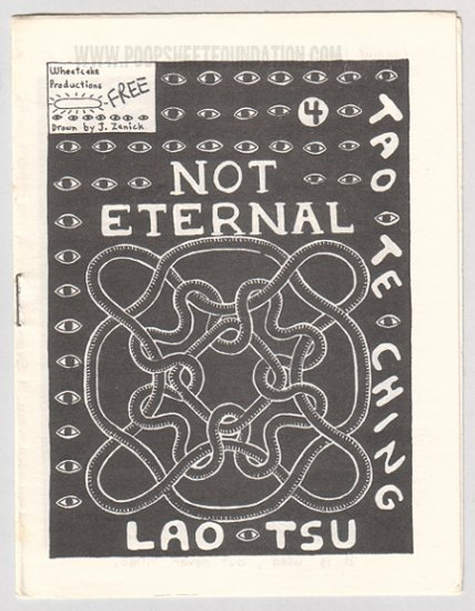 NOT ETERNAL #4 minicomic JEFF ZENICK 1990s