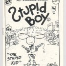 STUPID BOY #4 mini-comic MATT FEAZELL 1986 1st?
