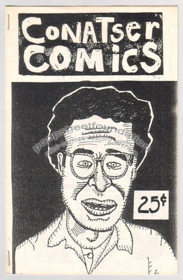 CONATSER COMICS mini-comix JIM CONATSER primitive 1987