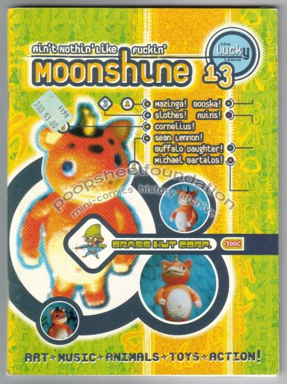 AIN'T NOTHIN' LIKE MOONSHINE #13 comix BWANA SPOONS Craig Thompson 1998