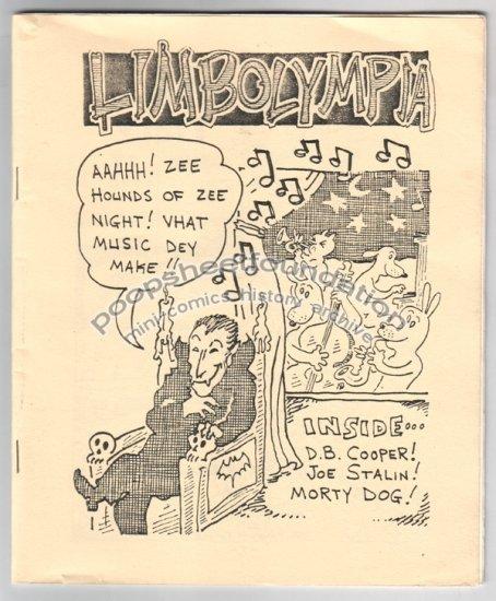 LIMBOLYMPIA mini comix STEVE WILLIS bootleg comic 1987