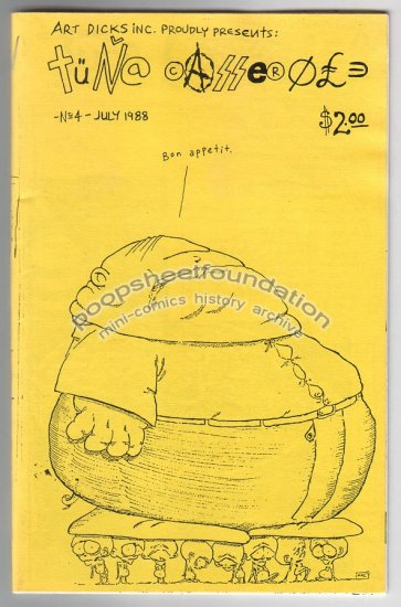 TUNA CASSEROLE #4 comix MARC ARSENAULT Sam Henderson PAUL KOMODA Wayno 1988