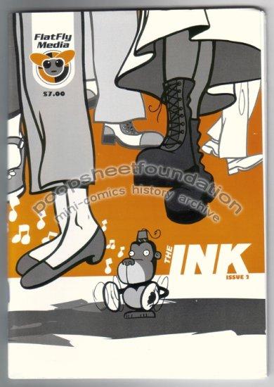 THE INK #2 Australian mini comics anthology DOUG HOLGATE Bernard Caleo GRUG Ryan Vella 2004