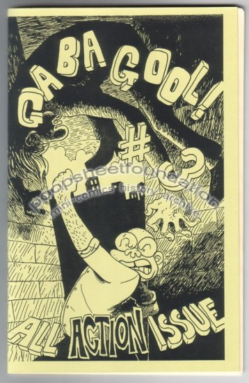 GABAGOOL #3 mini comix MIKE DAWSON Chris Radtke 2002