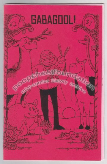 GABAGOOL #2 mini comix MIKE DAWSON Chris Radtke 2002