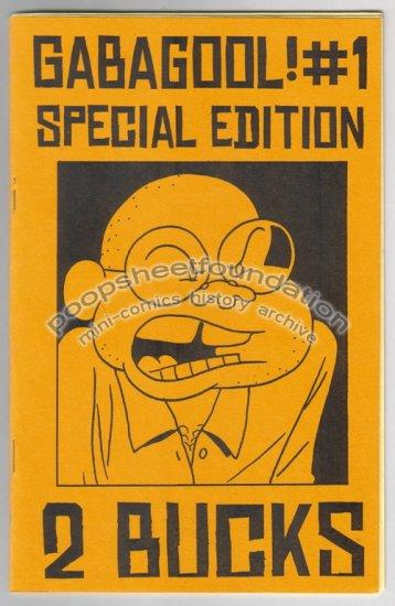 GABAGOOL #1 SPECIAL EDITION mini comix MIKE DAWSON Chris Radtke 2003