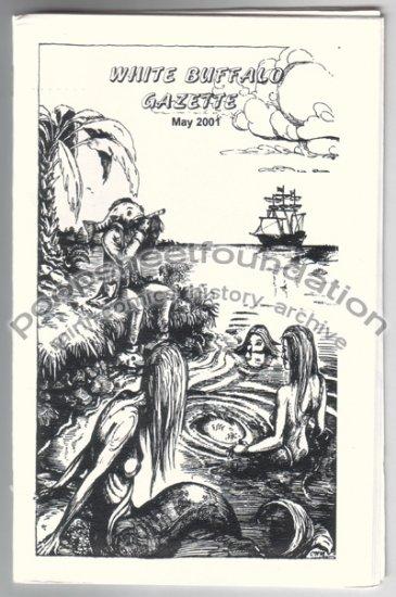 WHITE BUFFALO GAZETTE May 2001 mini comix HILARY BARTA T. Motley STEVE WILLIS David Lasky