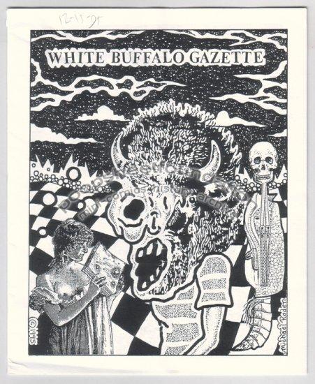 WHITE BUFFALO GAZETTE mini comix MICHAEL RODEN Jeff Zenick 1995