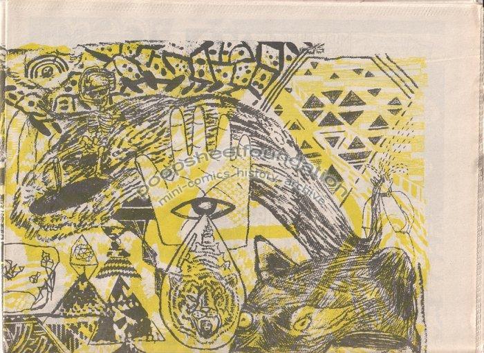PAPER RODEO #16 art brut comix MAT BRINKMAN Ron Rege Jr FORT THUNDER 2003
